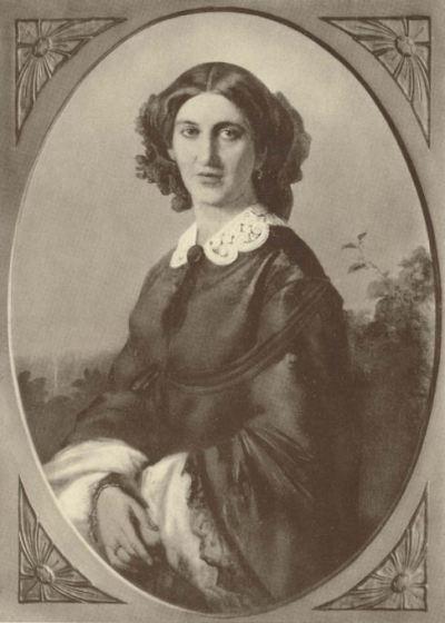 Johanna von Bismarck, née von Puttkamer, 1857