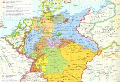 Средняя Европа с 1815 по 1866