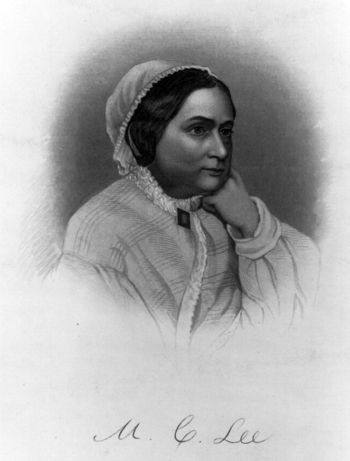 Mary Custis Lee, 1854