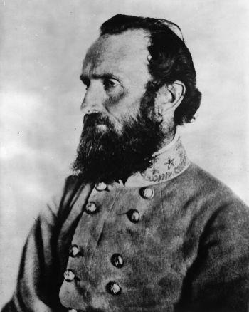 Il tenente generale Jackson intorno al 1862