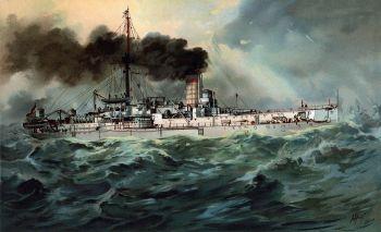 Das Schwesterschiff SMS Baden