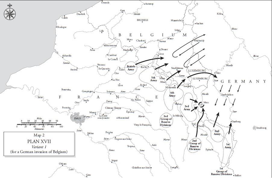 Westfront 1 Weltkrieg Karte.Der 1 Weltkrieg Militar Wissen