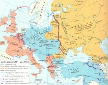 Anni di guerra dal 1917 al 1918