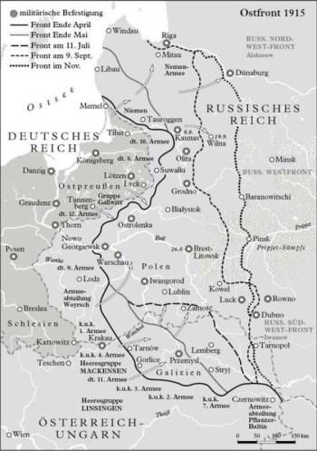 东部战线1915年