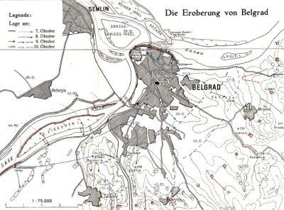Die Eroberung Belgrads durch die 43. Reserve Division