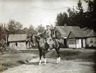 Generalstabsoffizier 201. Division im Oktober 1916