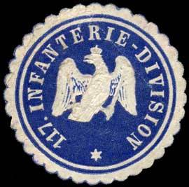 Siegelmarke 117. Infanterie-Division