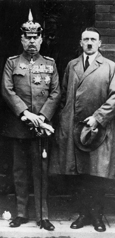 Erich Ludendorff e Adolf Hitler