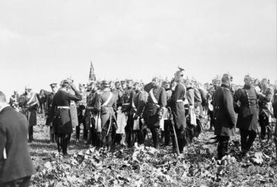Helmuth von Moltke lors d'une manœuvre de troupe en 1905