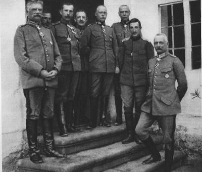Оперативное совещание 6 ноября 1915