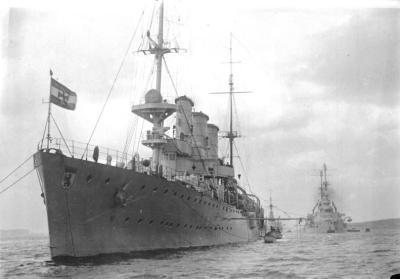 SMS Berlin après la modernisation 1922