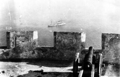 SMS Berlin avant les fixations d'Agadir 1911