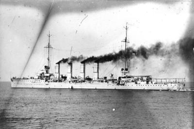 Маленький крейсер СМС Вроцлав