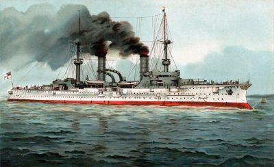 Броненосный крейсер СМС князь Бисмарк