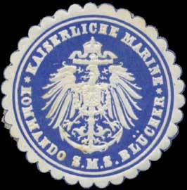 Seal mark SMS Blücher