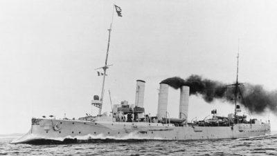 Маленький крейсер СМС Гамбург