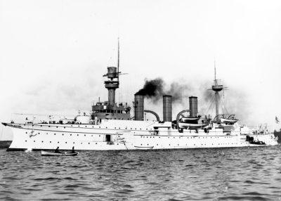 Большой крейсер СМС Ганзу