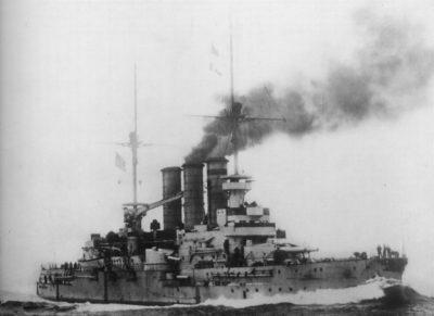 Nave da battaglia pre-Dreadnought della SMS Hessen