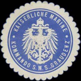 Seal mark SMS Graudenz