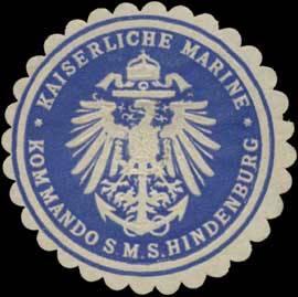 Sigillo dell'SMS Hindenburg