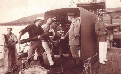 Equipaggio di armi del SMS Königsberg