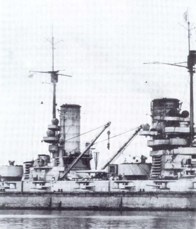 Middle ship of the SMS König