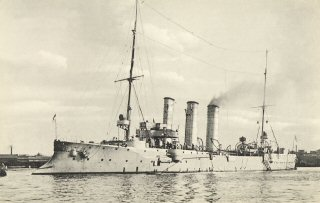 Маленький крейсер СМС Любек