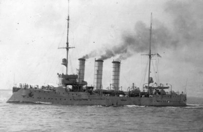 Small cruiser SMS Leipzig