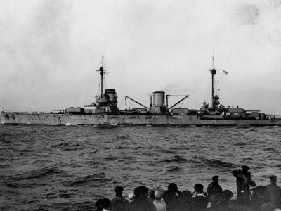 Big cruiser (battle cruiser) SMS Moltke