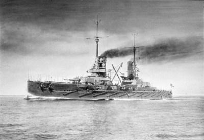 Battleship SMS Prinzregent Luitpold