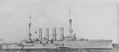 Big cruiser SMS Roon