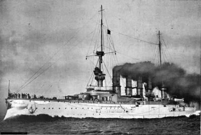 Big cruiser SMS Scharnhorst