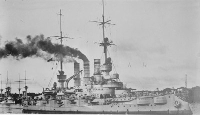 Bateau de ligne SMS Schlesien
