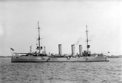 Small cruiser SMS Stettin