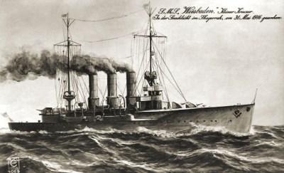 Маленький крейсер СМС Висбаден