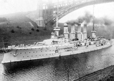 Big cruiser SMS Yorck