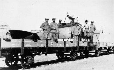 Авиация B. I на дороге к фронту