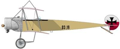 Фоккер B. II Австрия-венгерской военной авиации