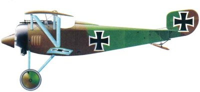 Siemens-Schuckert D.I of the 5th squadron of fighters