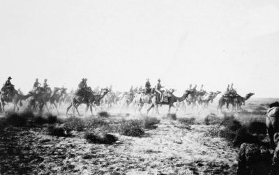 第一次世界大战中的澳大利亚骆驼队