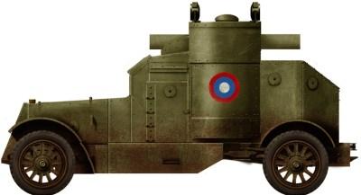 Auto blindata Austin Serie II