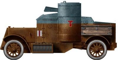 Auto blindata Austin Serie III