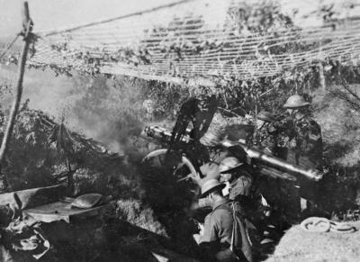 Огням по Дойран фронт, Салоники в 1917