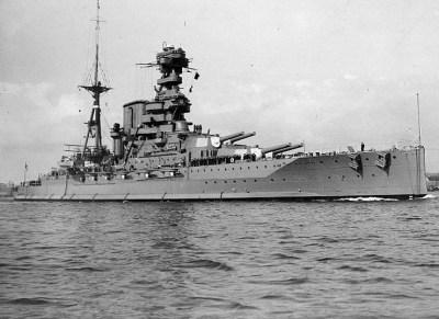Cuirassé HMS Barham