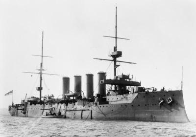 Броненосный крейсер ГиС еарнарфон