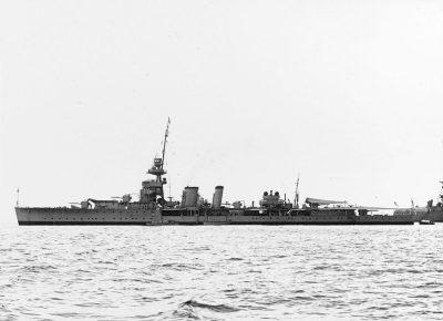 Легкий крейсер ГиС еуракоа