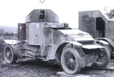 兰彻斯特4×2装甲车