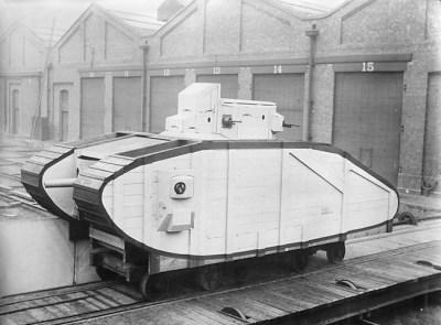 Деревянная модель Марка VI