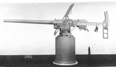 QF 6磅重的霍奇基斯海军陆战队枪