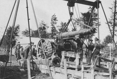Изменение трубы в битве в многоугольнике Воод 26 сентября 1917